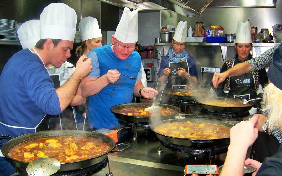 cocinar-paella